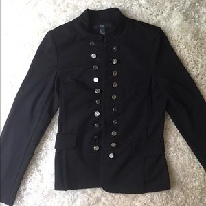 XXI Black Sailor Blazer